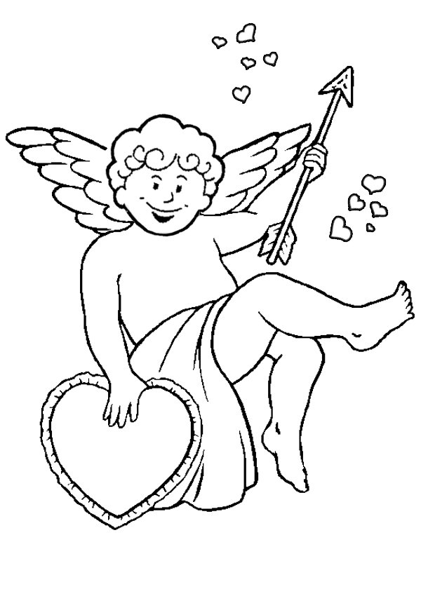 coloring pages cherubs - photo#15