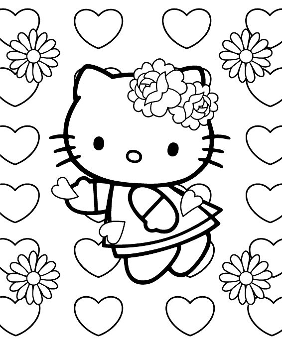 Hello Kitty Cupido