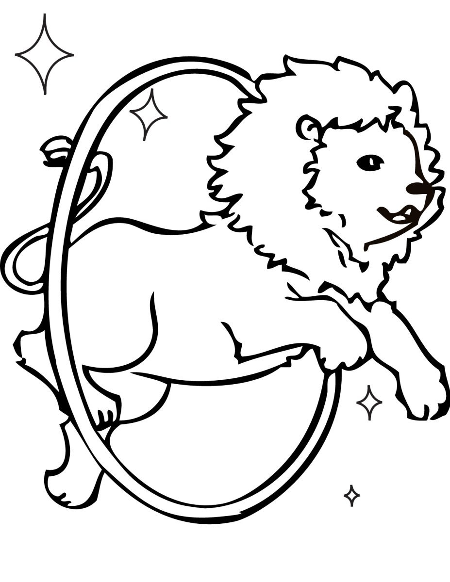 Dibujos Para Pintar De Leones on Circus Color By Number Coloring Page
