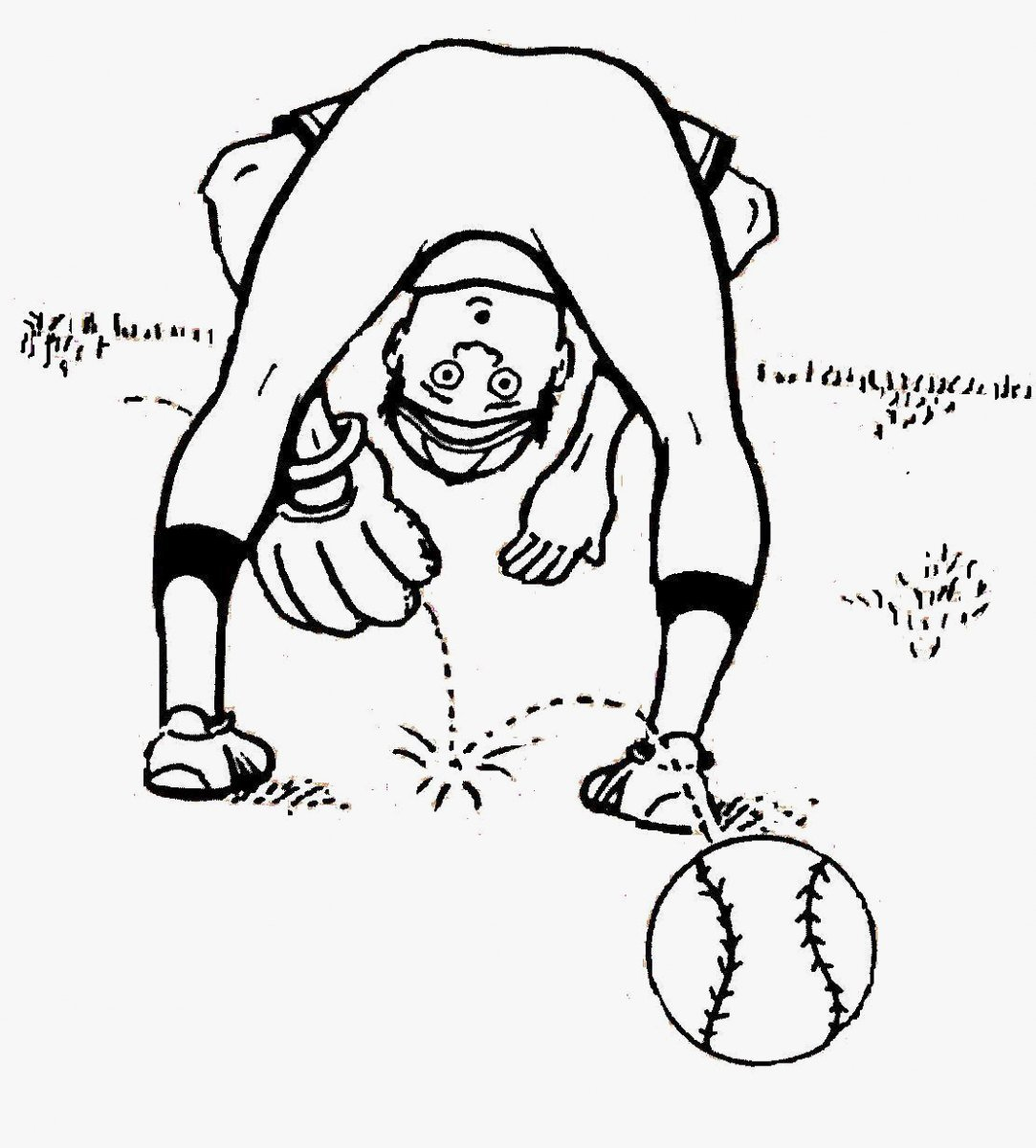 beisbol coloring pages - photo#1
