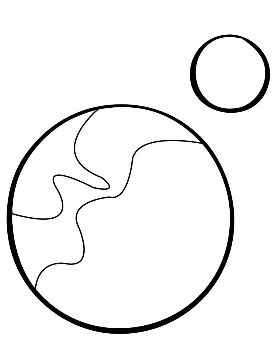 pluto planet coloring pages - photo#15