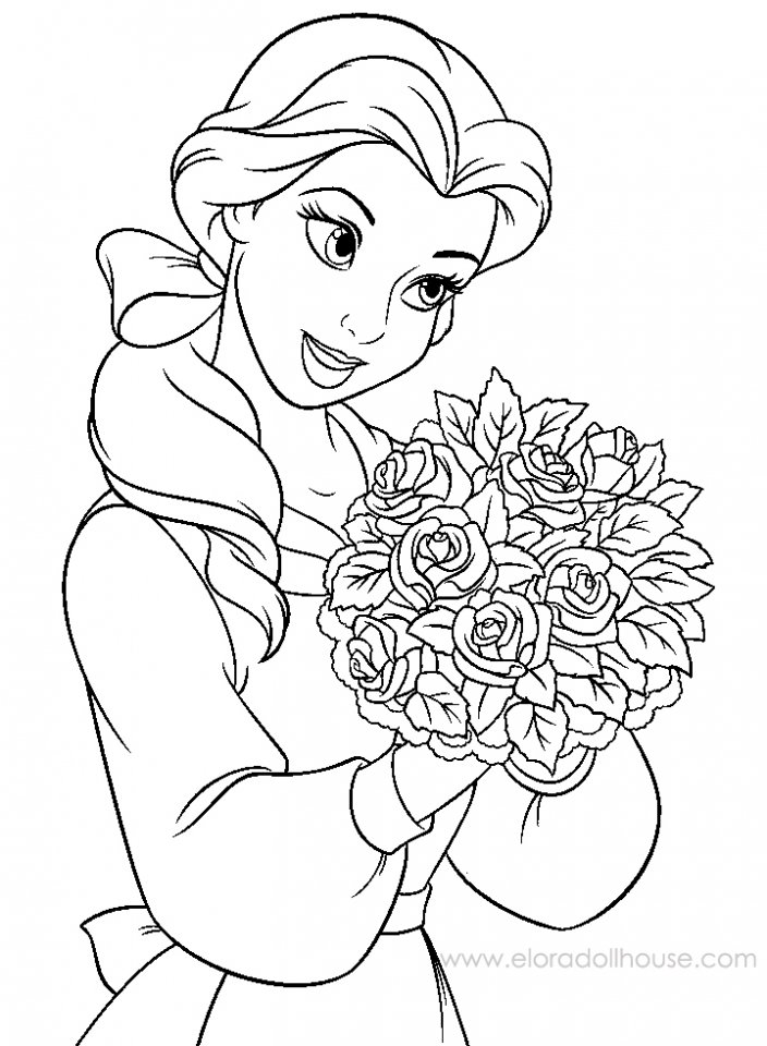 different disney character coloring pages - photo#9